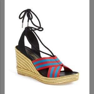 NWT Marc Jacobs Wedge Sandals